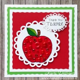 Thank You Teacher Card - TE003