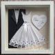 Bride and Groom Handmade Frame - WF001