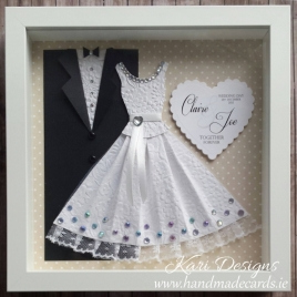Bride and Groom Handmade Frame - WF001