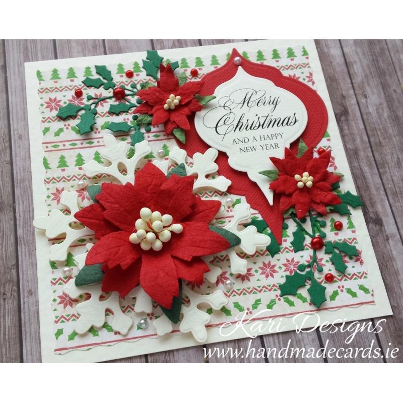 beautiful christmas card handmadekari designs www