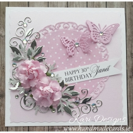 Handmade Birthday Card - BW004
