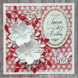 Handmade Birthday Card - BW012