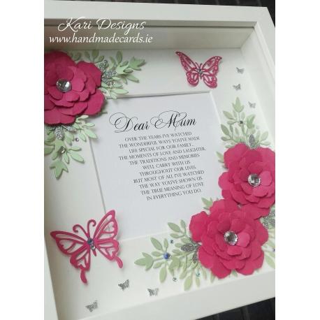 Handmade Floral Frame - FF020