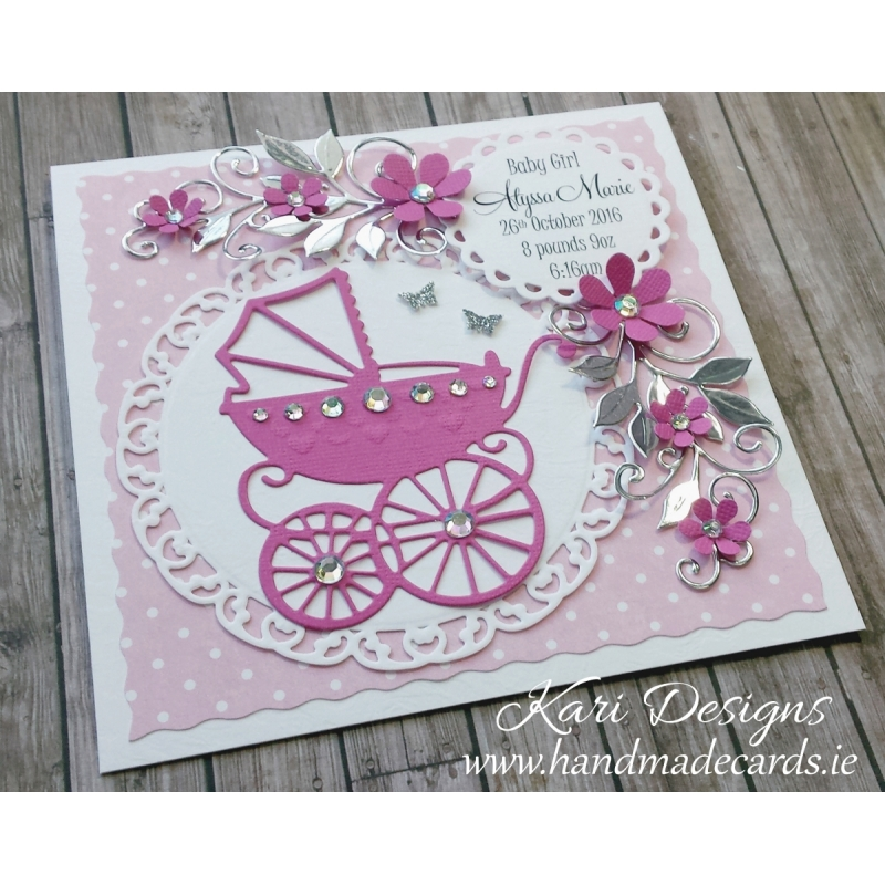how to make birthday cards for baby girl