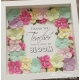 Colourful flower frame - FF025