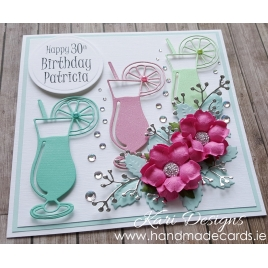 Handmade Birthday Card - BW020