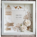Handmade Vintage style Wedding Frame - VF003