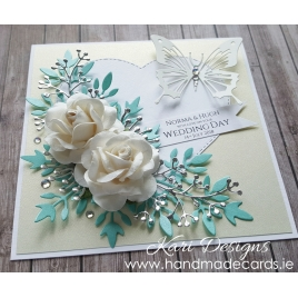 Handmade Wedding Card - WE027