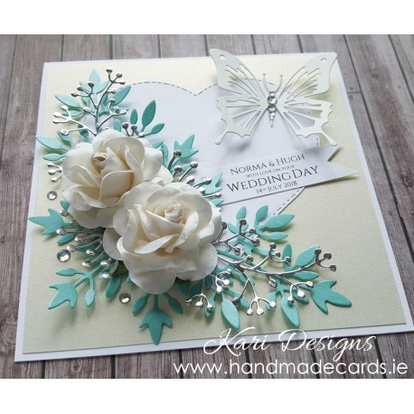 Handmade Wedding Card - WE027
