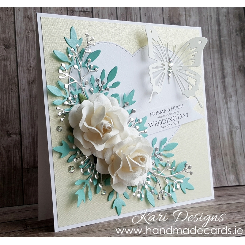 Handmade Wedding Card We027
