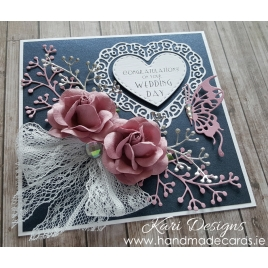 Handmade Wedding Card - WE026