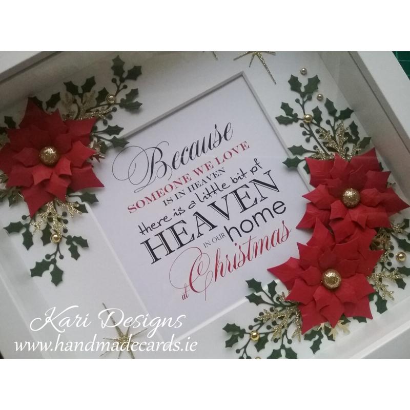 Handmade Christmas Frame Fxm020