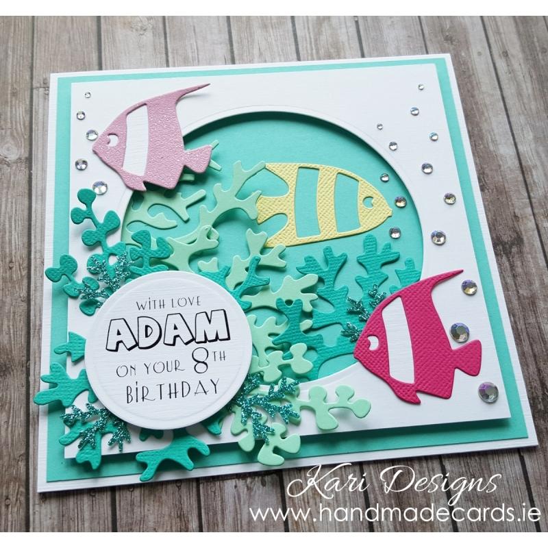 Colourful Handmade Birthday Card