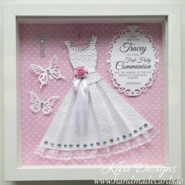 First Communion Handmade Frame - CF002