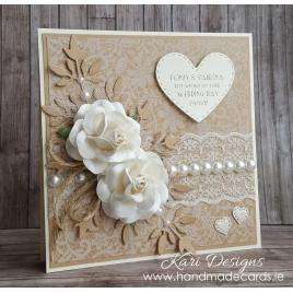 Handmade Wedding Card - WE009